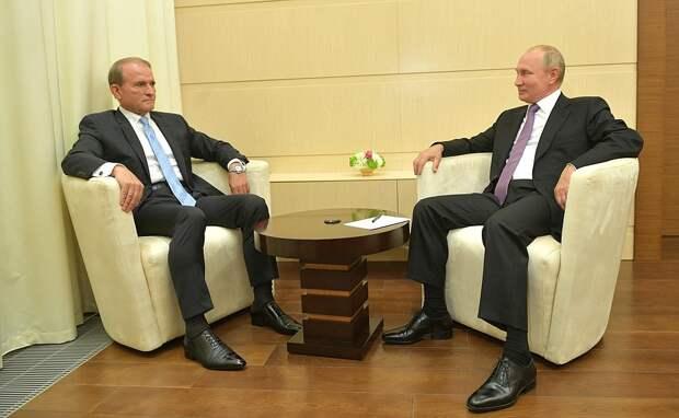 Украинский политик приехал к Путину и попросил отменить санкции (ФОТО, ВИДЕО)