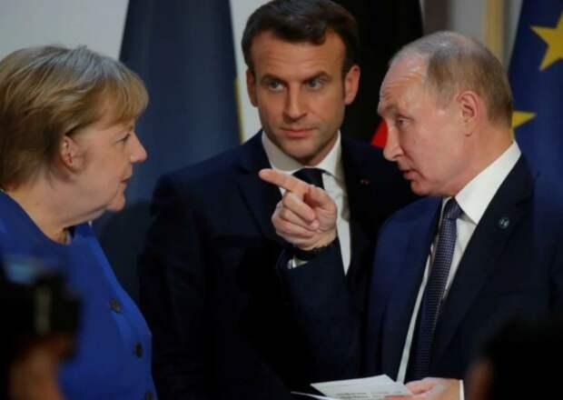 Прямые указания Владимира Путина Европе