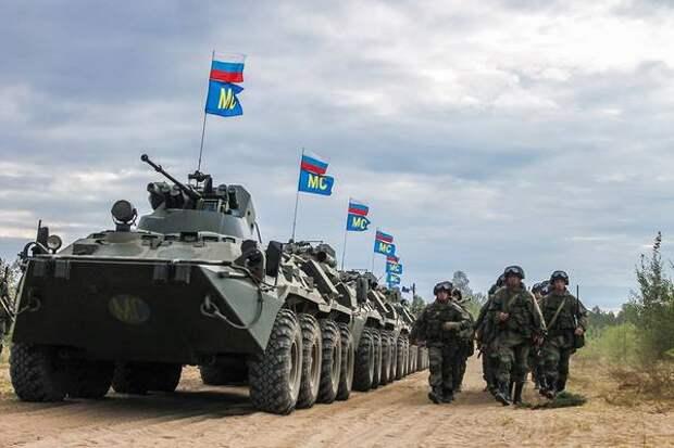 Российская группировка в Приднестровье. До Одессы 1 марш бросок.