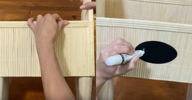Мастерица придумала необычную идею по использованию разделочной доски