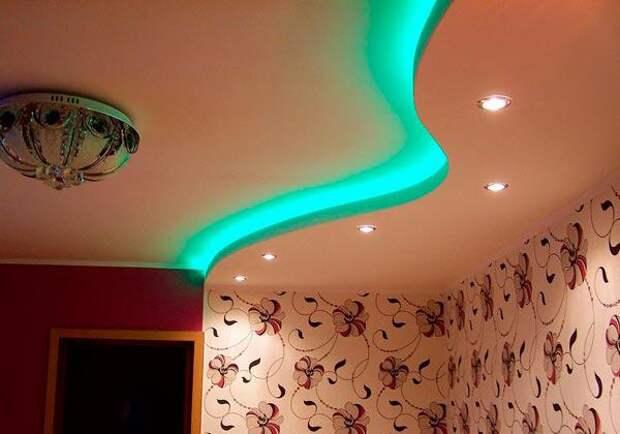 5 причин отказаться от гипсокартонных волн на потолке
