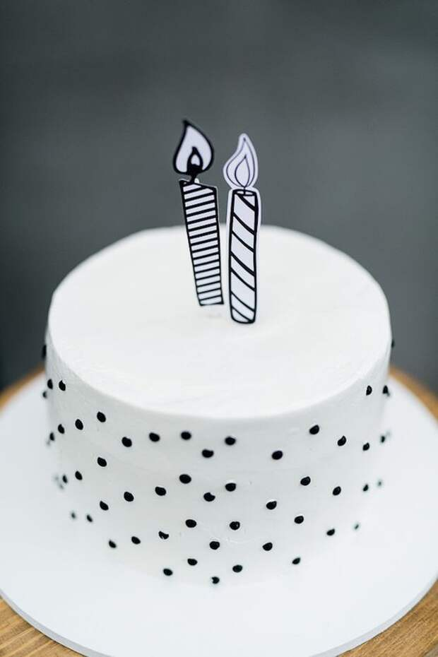 как красиво украсить торт