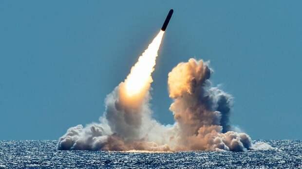 Межконтинентальная баллистическая ракетаTrident II
