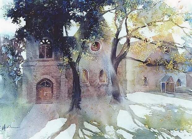 художник Lian Quan Zhen (Лиан Цюань Чжэнь) картины – 20