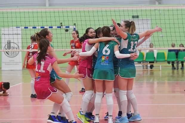 Ижевские волейболистки «Италмас-ИжГТУ» победили «Брянск» в двух матчах