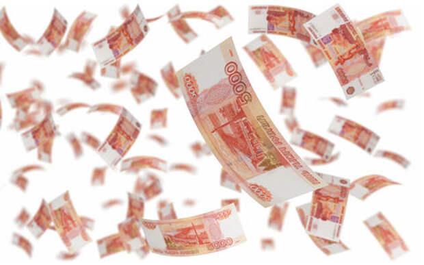 Спасаясь от погони, чиновники выкинули на дорогу 300 000 рублей