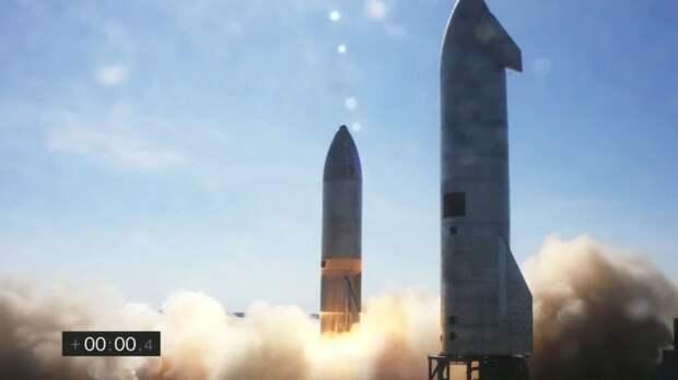 Starship-SN9-запуск-1024x576 Прототип корабля Starship от SpaceX во второй раз взорвался при посадке