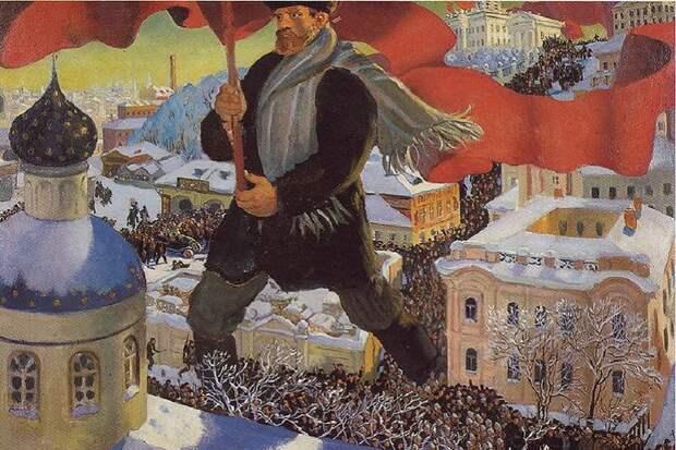 Большевики в 1917 году стали преемниками исторической России