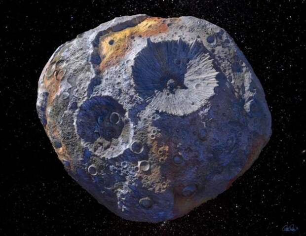 Откуда на астероидах кратеры астероиды, интересное, космос, наука, факты