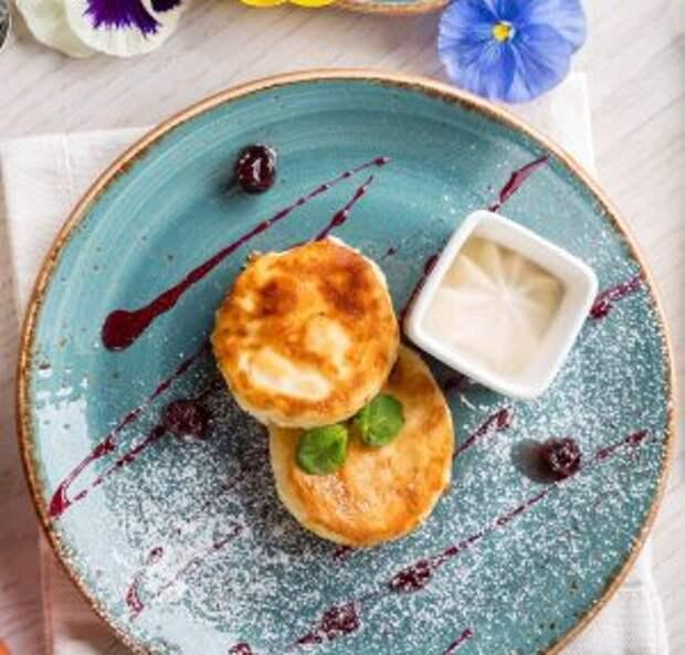 Воздушные сырники на завтрак / Фотобаза