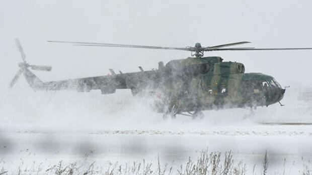 СК назвал предварительную причину вынужденной посадки Ми-8 на Таймыре