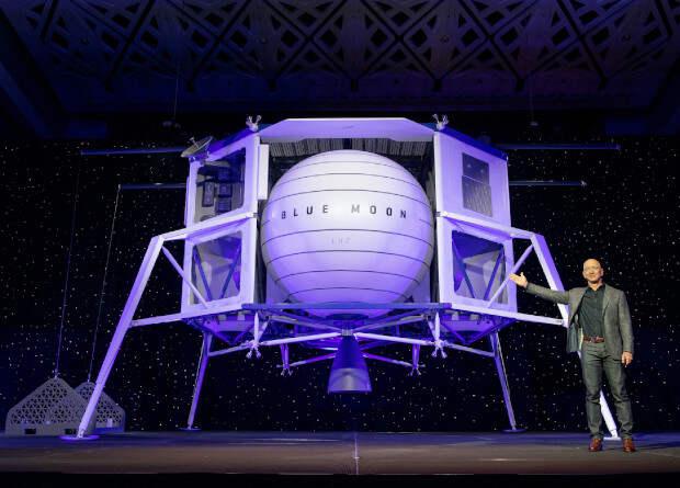 Blue Origin показала лунный посадочный модуль