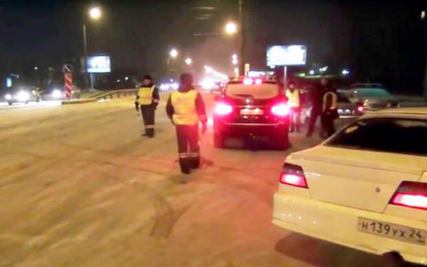 «Трезвый водитель» оказался наркоманом — полиция начала погоню