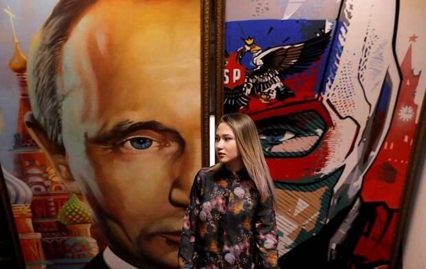 В Москве появился SUPERPUTIN