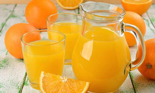 Берем 4 апельсина и получаем целое ведро сока