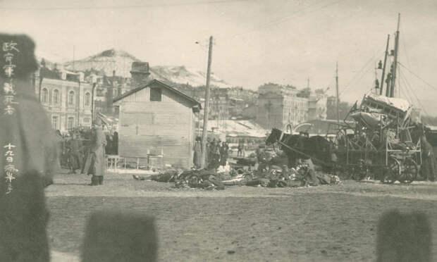 жертвы мятежа чеха Гайды против колчаковских войск