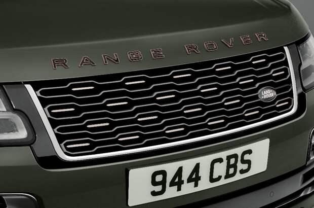 Запущен новый Range Rover SVAutobiography Ultimate