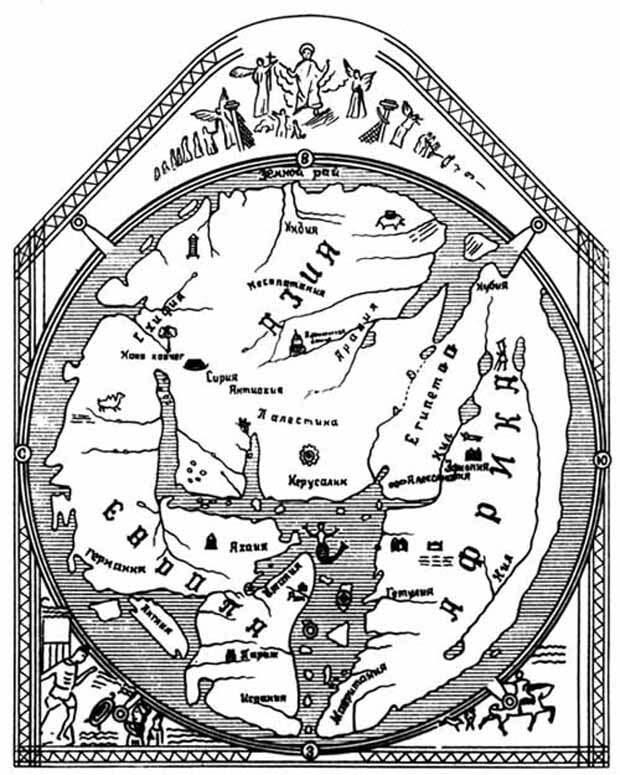 Запретные темы истории. Карта древнего мира