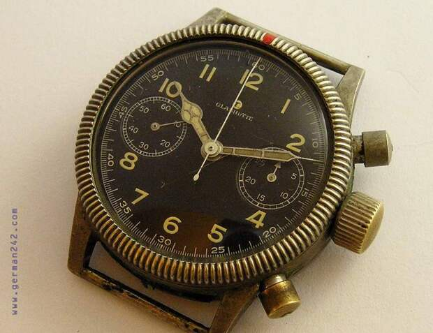 Опасные часы с радиацией Glashutte