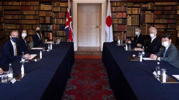 Заседание министров иностранных дел «Группы семи»