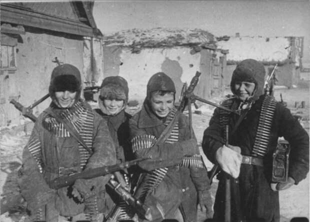 Волоколамские мальчишки. Как они 2 дня защищали свою деревню от немцев