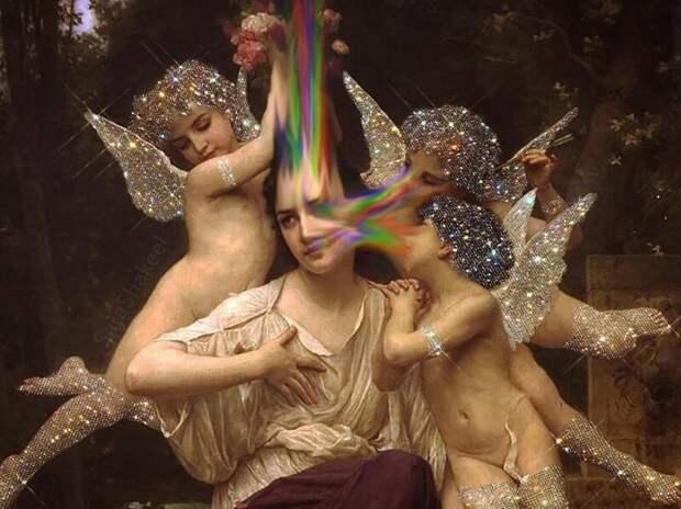 Как заставить мир блестеть: 25 сияющих работ Сары Шакил