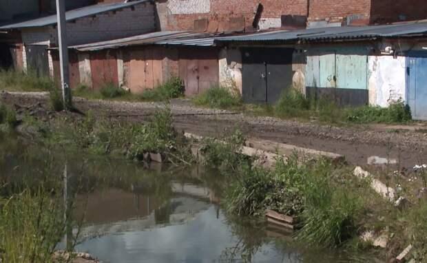 Виновника сброса сточных вод в реку Подборенку разыскивают в Ижевске