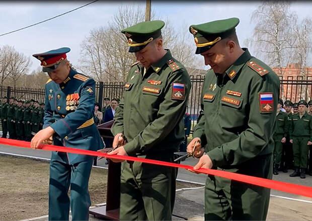 Военная школа поваров Западного военного округа отметила 60-летие открытием нового учебного комплекса в Московской области
