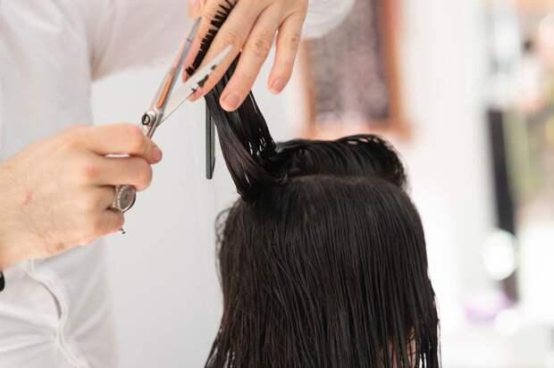 Как проредить густые волосы в домашних условиях