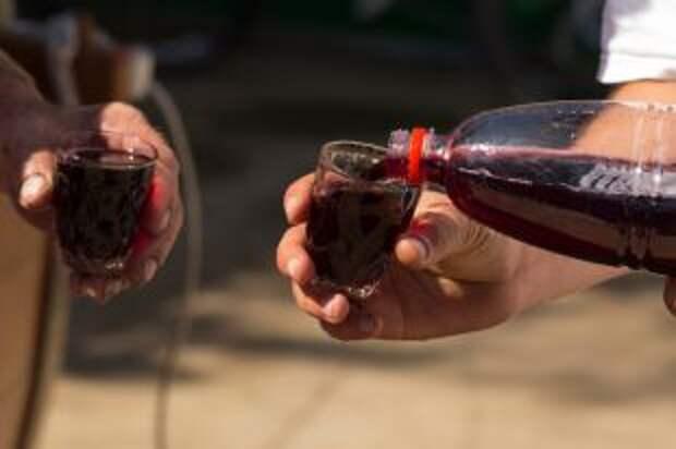 Вино в пластиковой бутылке. Чем опасны домашние алкогольные напитки?