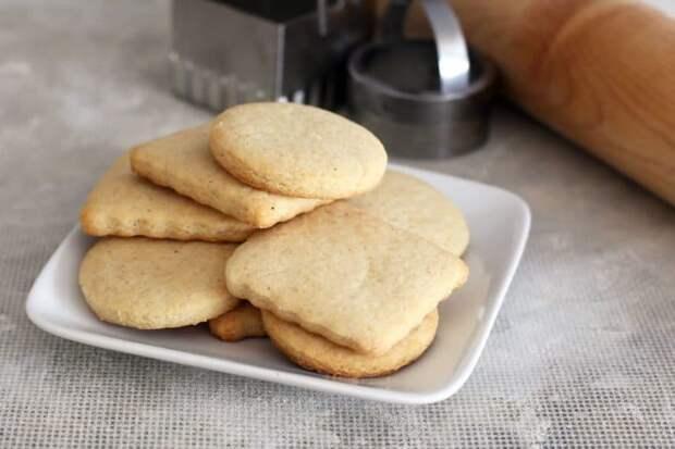 Печенье на сметане: очень вкусно и просто. 4