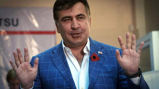 Физиогномист объяснил мимику Саакашвили асимметрией лица
