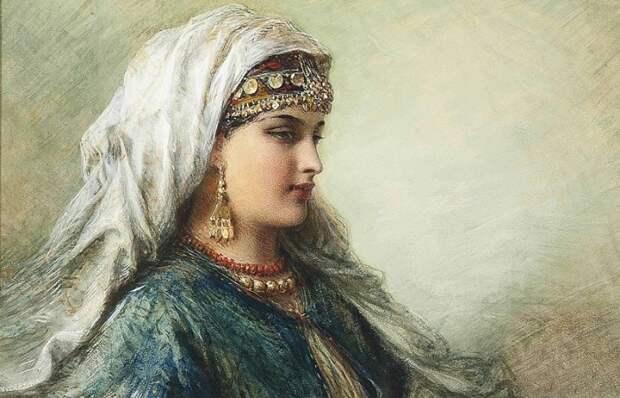 5 неарабских женщин арабской Испании, навсегда оставшихся в истории. Картина Эгрона Лундгрена.