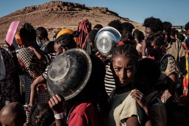В Эфиопии разразился голод: кризис создан человеческими руками