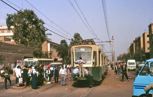 Каир 1992, СССР, дорожное движение, капиталистические страны, прошлый век, соц. страны, страны третьего мира, улицы