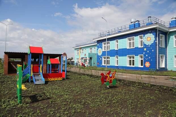 Детский сад на 140 мест открыли в деревне Ревякина Иркутского района