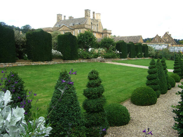 Bourton House Garden - пример ландшафтного дизайна