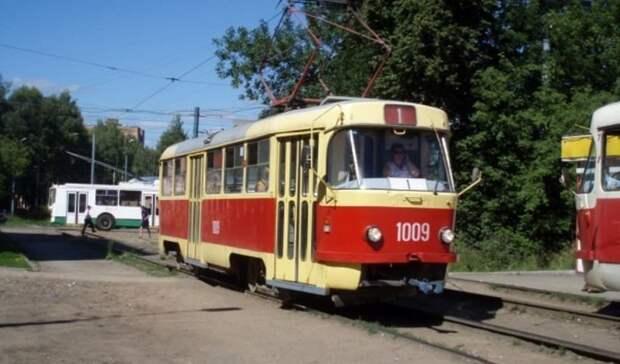 Движение трамваев в городок Металлургов в Ижевске закроют с 13 по 15 сентября