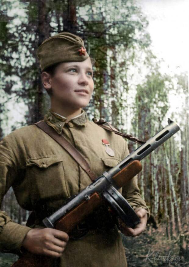 35 советских красавиц-героинь Великой Отечественной