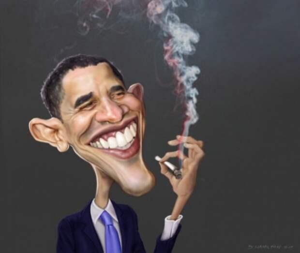 Санкции тов. Обамы развеселили всю страну!