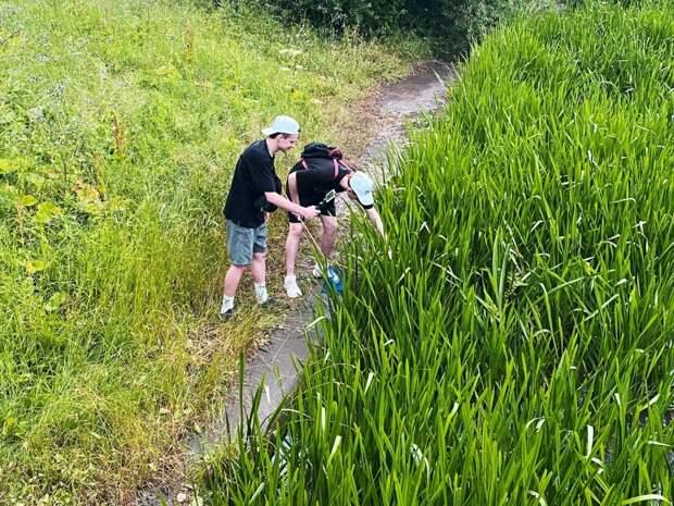 Студенты МГУТУ прошли практику на территории парка «Яуза»