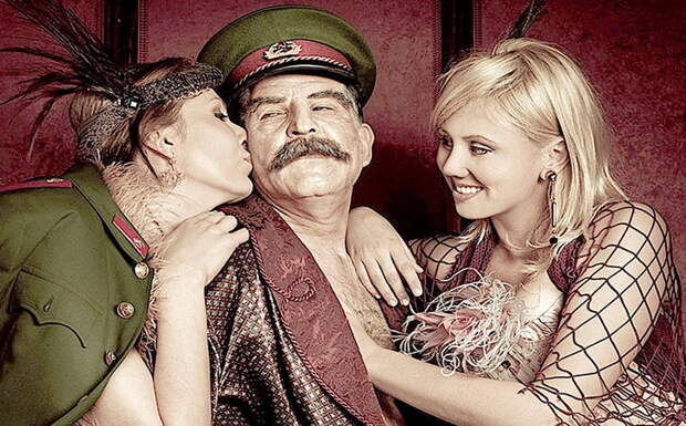Клуб групповой любви имени Сталина. Не шутка