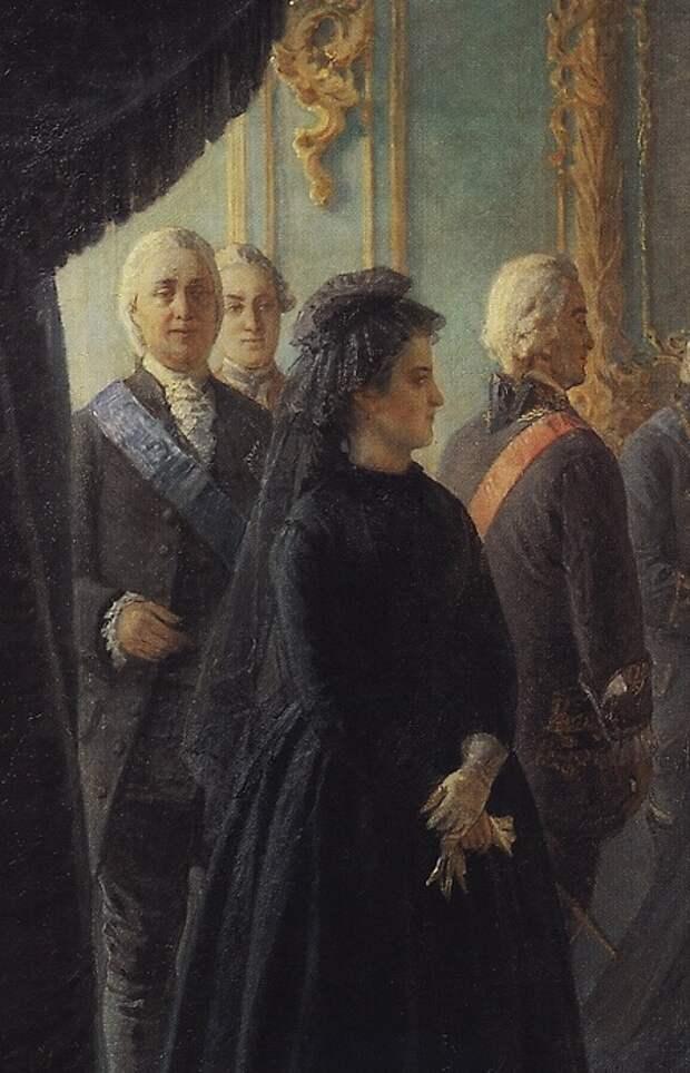 «Екатерина II у гроба императрицы Елизаветы»: неразгаданная тайна полотна Николая Ге, которое не показывают посетителям Третьяковки