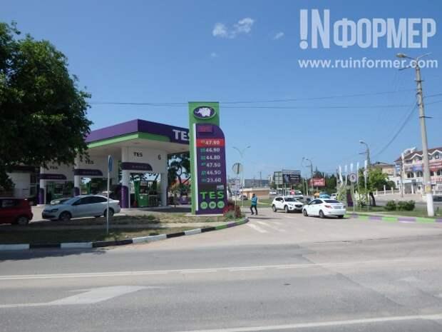 Цены на бензин в Севастополе