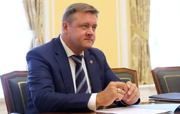 Губернатор Рязанской области Николай Любимов  Владимир Гердо/ТАСС