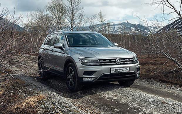 Российский Volkswagen Tiguan получил «эксклюзивную» версию