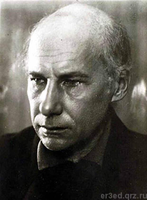 Андрей Белый. Последнее фото. Москва. 1933