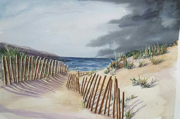 Ветер свободы в дюнах Прибалтики