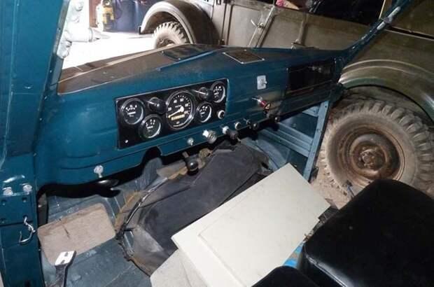 Автомобиль был разобран до винтика, весь процесс реставрации занял почти три года. ГАЗ-63, авто, автомобили, восстановление, газ, грузовик, реставрация