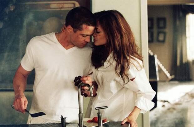 Любовный гороскоп на 2015 год: Кадр из фильма Мистер и миссис Смит